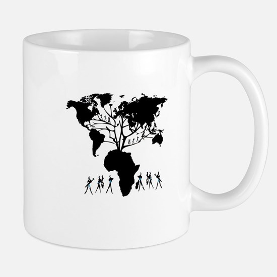 Africa Genealogy Tree Mug