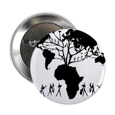 """Africa Genealogy Tree 2.25"""" Button (100 pack)"""