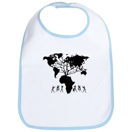 Africa Genealogy Tree Bib