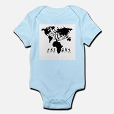 Africa Genealogy Tree Infant Bodysuit