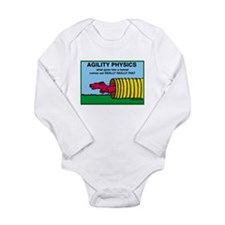 Agility Physics Long Sleeve Infant Bodysuit