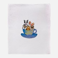 Teacup Agility Throw Blanket