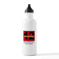 12 Weave Poles Water Bottle