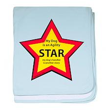 Agility Star baby blanket