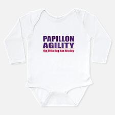 Papillon Agility Long Sleeve Infant Bodysuit