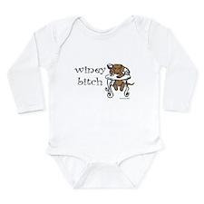 Winey Dachshund Long Sleeve Infant Bodysuit