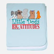 Big Attitudes baby blanket