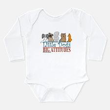 Big Attitudes Long Sleeve Infant Bodysuit