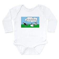 Junior Herds Long Sleeve Infant Bodysuit