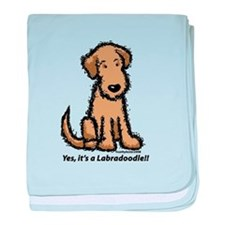 Yes it's a Labradoodle!! baby blanket