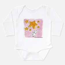 Westie/Star Long Sleeve Infant Bodysuit