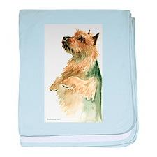 Australian Terrier beg baby blanket