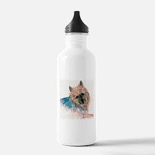 Australian Terrier face Water Bottle