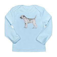 Border Terrier Long Sleeve Infant T-Shirt
