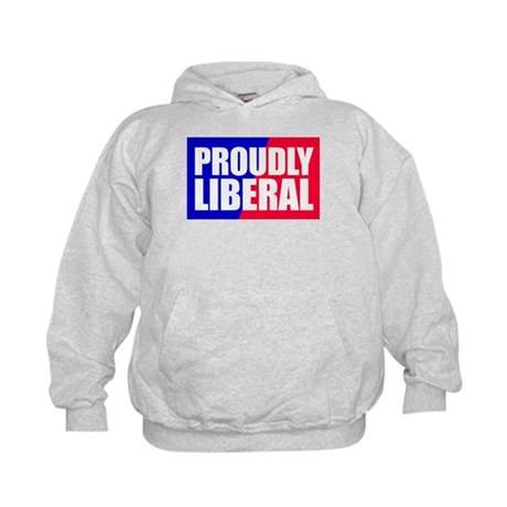 Proudly Liberal Kids Hoodie