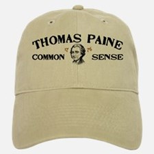 Thomas Paine - Common Sense Baseball Baseball Cap
