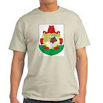 Bermuda Coat Of Arms Ash Grey T-Shirt