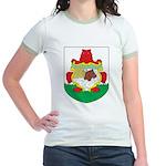 Bermuda Coat Of Arms Jr. Ringer T-Shirt