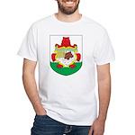 Bermuda Coat Of Arms White T-Shirt