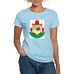 Bermuda Coat Of Arms Women's Pink T-Shirt