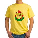 Bermuda Coat Of Arms Yellow T-Shirt