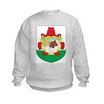 Bermuda Coat Of Arms Kids Sweatshirt