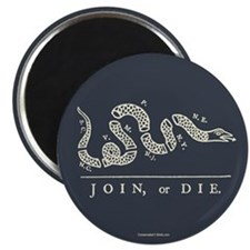 "Join or Die 2.25"" Magnet (10 pack)"