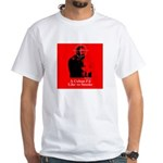 Castro - A Cuban I'd Like to Smoke White T-Shirt