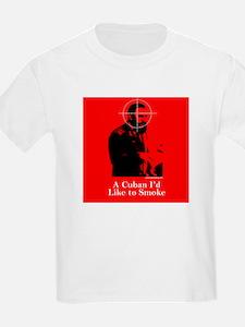 Castro - A Cuban I'd Like to Smoke Kids T-Shirt