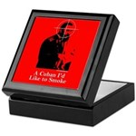 Castro - A Cuban I'd Like to Smoke Keepsake Box