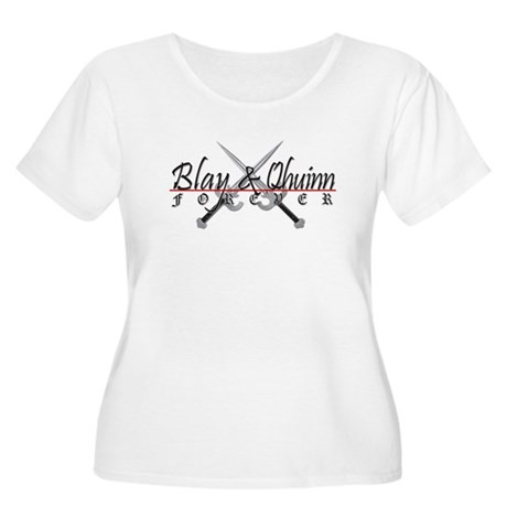 Blay and Qhuinn Forever Women's Plus Size T-Shirt