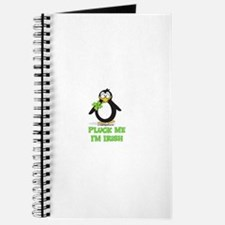 Pluck Me I'm Irish Penguin Journal
