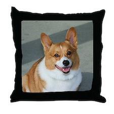 Cute Pembroke corgi Throw Pillow
