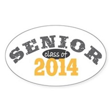 Senior Class of 2014 Decal