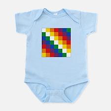 Bolivia Wiphala Infant Bodysuit