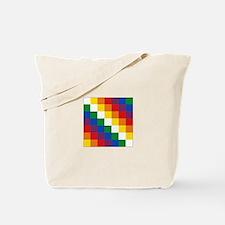 Bolivia Wiphala Tote Bag
