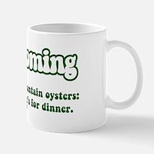 Vintage Wyoming Mug