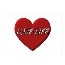 LOVE LIFE EVERYDAY Postcards (Package of 8)