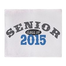 Senior Class of 2015 Throw Blanket