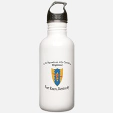 6th Squadron 4th Cavalry Water Bottle