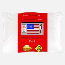 The Plutocracy in America Pillow Case