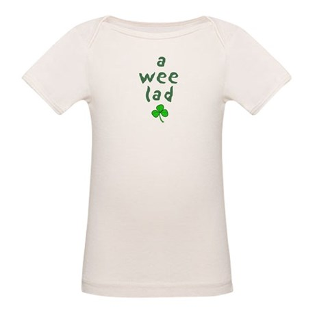 a wee lad Organic Baby T-Shirt