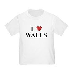 I Love Wales T