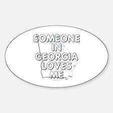 Someone in Georgia Decal