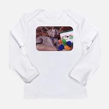 Sedona Weimaraner 8 Long Sleeve Infant T-Shirt