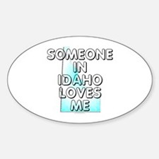 Someone in Idaho Decal