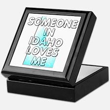 Someone in Idaho Keepsake Box