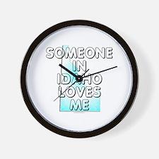 Someone in Idaho Wall Clock