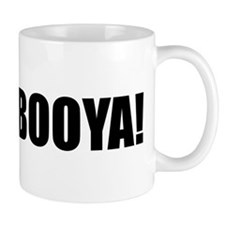 BOOYA! black text Mug