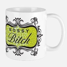 Lime Green Bossy Bitch Mug